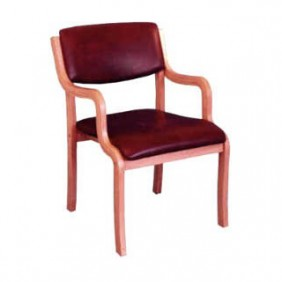 Oldage Visitor Chair Fabric Seat