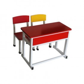 Ganges  Dual Desk with Chairs