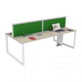 Loop S F2F Workstation Desk Based Face 2 Face Quadra