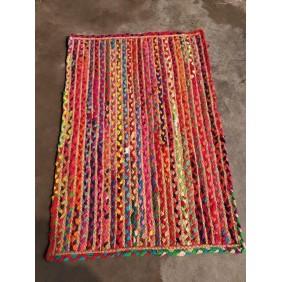 Cotton Chindi Hand Braided Rug
