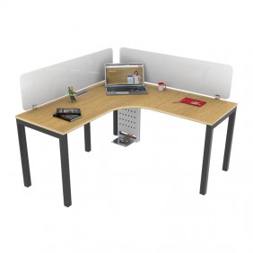Liva G Curry Workstation Desk Based Linear Curvilinear