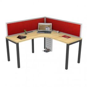 Liva S Curry Workstation Desk Based Linear Curvilinear
