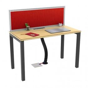 Liva S Workstation Desk Based Linear Single