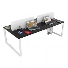 Loop G F2F Workstation Desk Based Face 2 Face Quadra