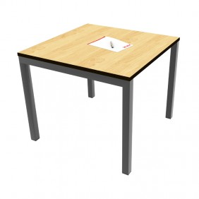 Olive Meeting Table Square Top